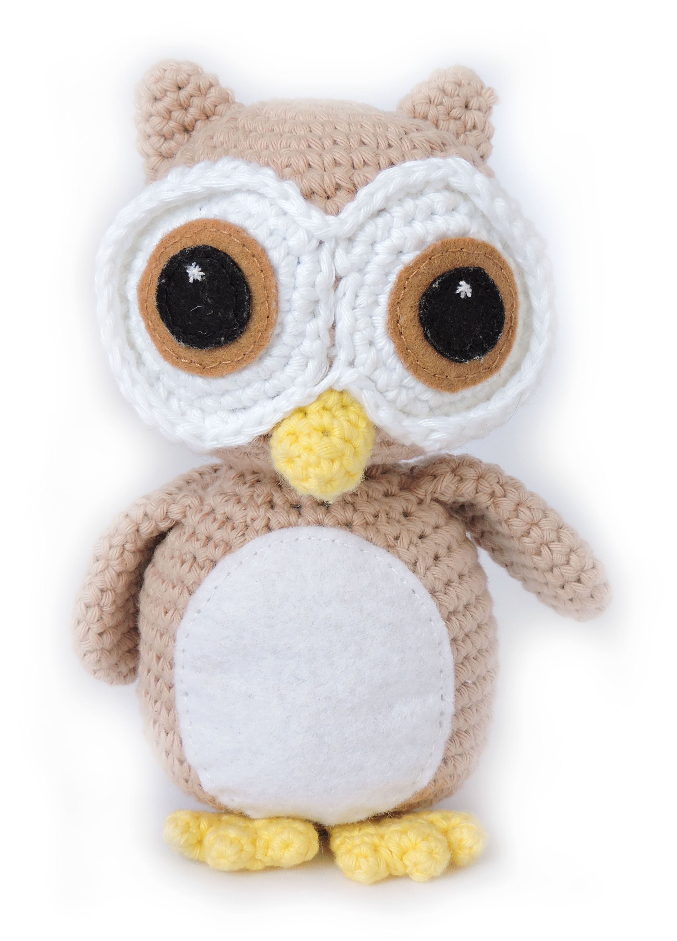 Owl Amigurumi Pattern - Oliver the Wide Eyed Owl