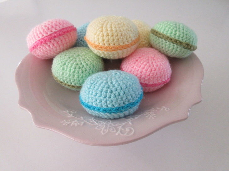Macaron - crochet pattern at Makerist - Image 1