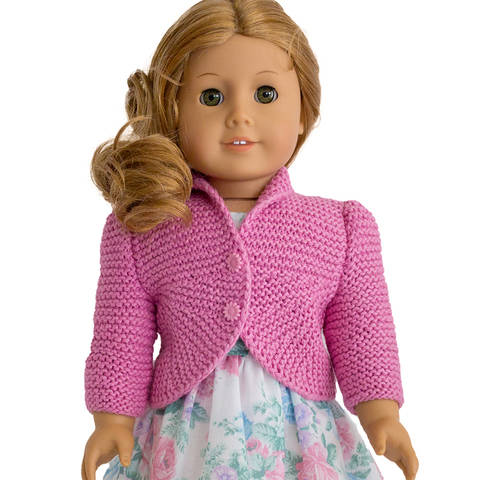 Summer cardigan  18 inch  dolls at Makerist