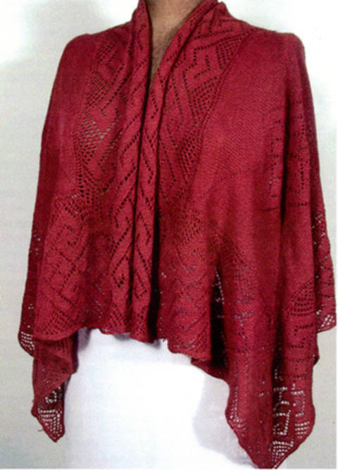 Filigree Shawl  at Makerist