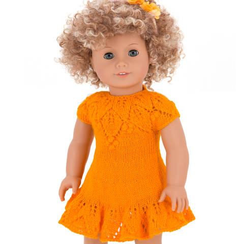 Summer dress  18 inch dolls  at Makerist