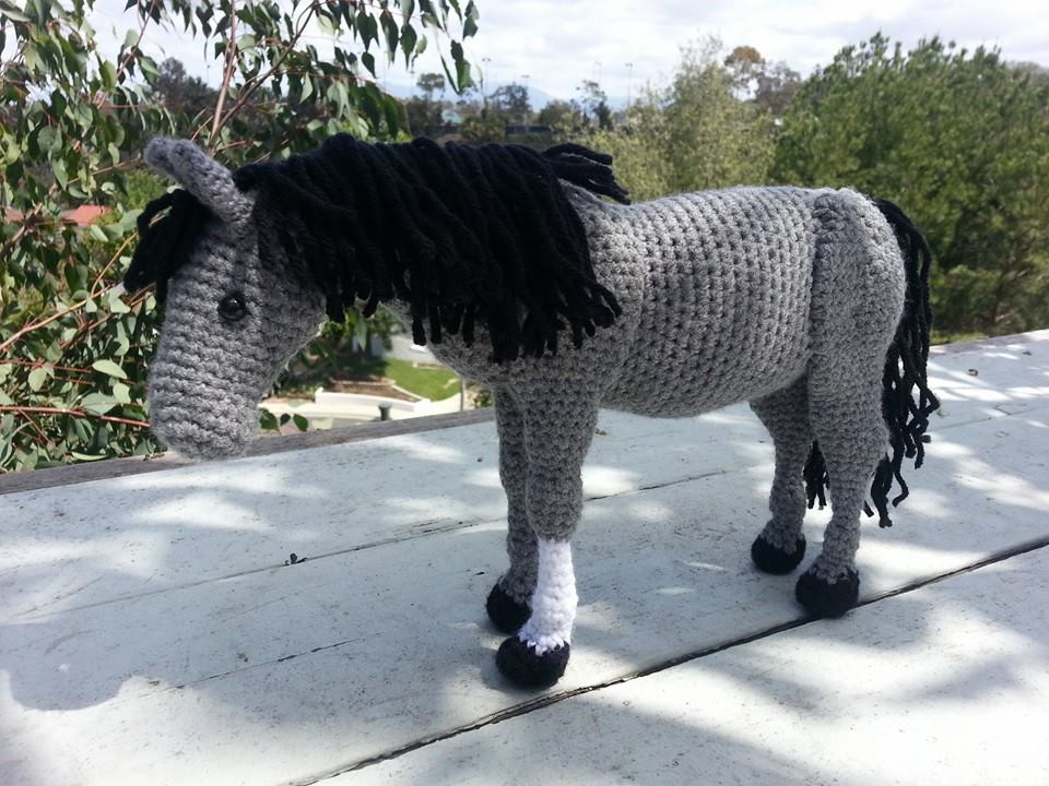 Amigurumi Crochet Pattern - Lucky the Horse | Crochet horse ... | 720x960