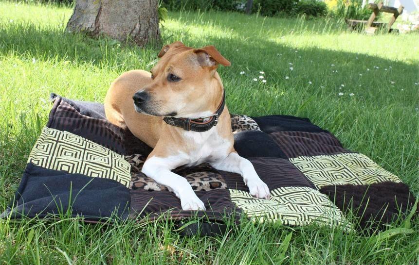 """Hundedecke """"JULIE"""" eBook Schnittmuster mit Tutorial bei Makerist - Bild 1"""