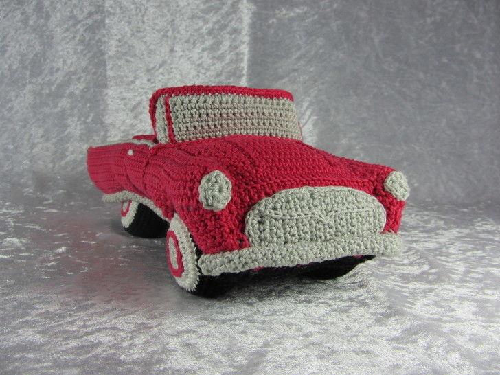 Häkelanleitung Hochzeits Cabrio bei Makerist - Bild 1