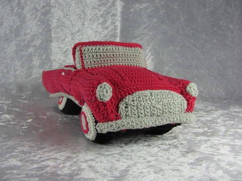 Häkelanleitung Hochzeits Cabrio