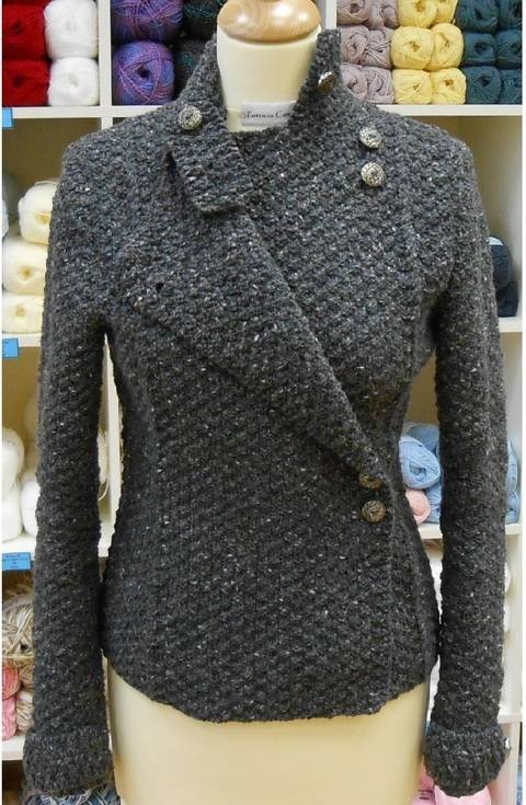 Military Jacket -knitting pattern
