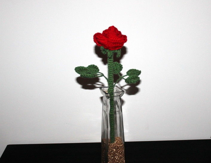 crochet pattern rose  at Makerist - Image 1
