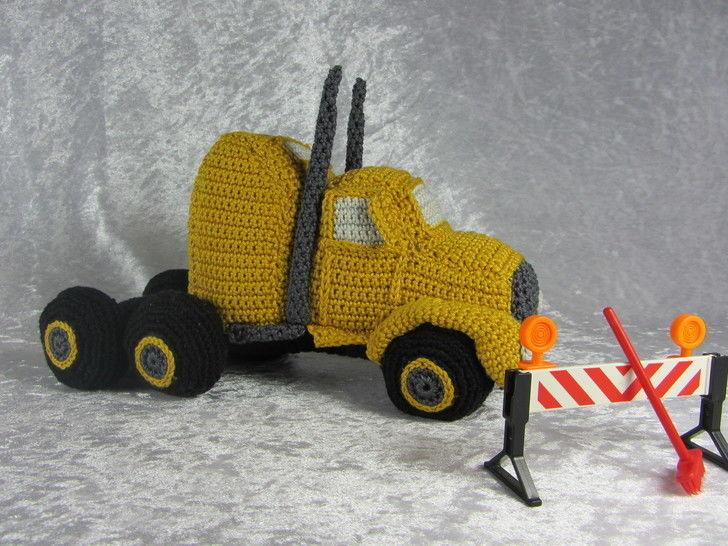 Häkelanleitung LKW Truck bei Makerist - Bild 1