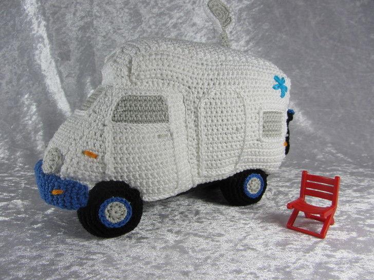 Häkelanleitung das kleine Wohnmobil bei Makerist - Bild 1