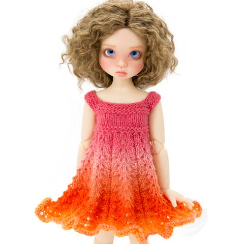 Summer dress 18 inch MSD BJD dolls  at Makerist