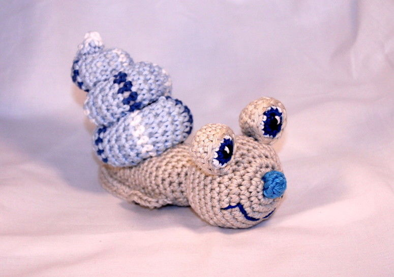 ebook Speedy snail crochet pattern at Makerist - Image 1