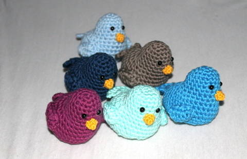 ebook decoration birds crochet pattern