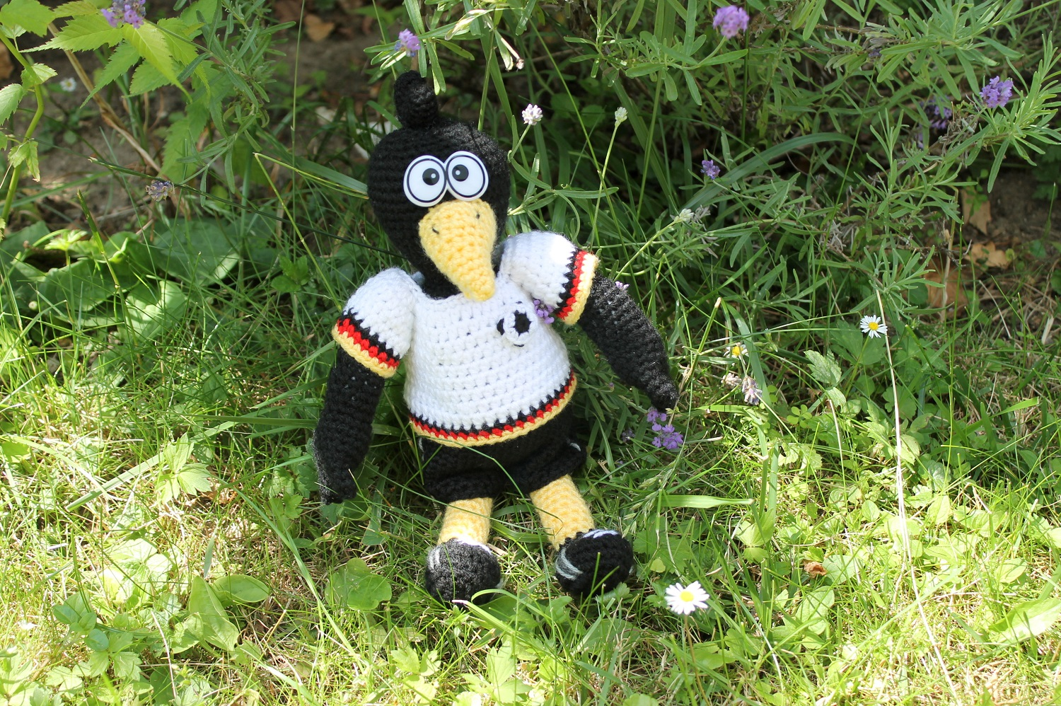 rob the raven crochet pattern