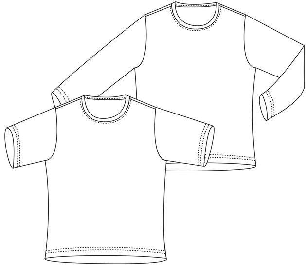 """""""Basic-Shirt"""", Gr.98-164 bei Makerist - Bild 1"""