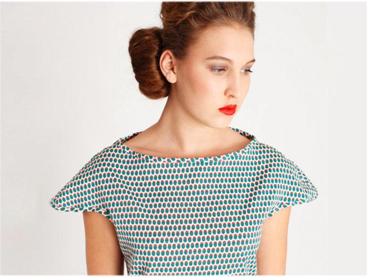 Schnittmuster Kleid und Shirt Amber bei Makerist - Bild 1