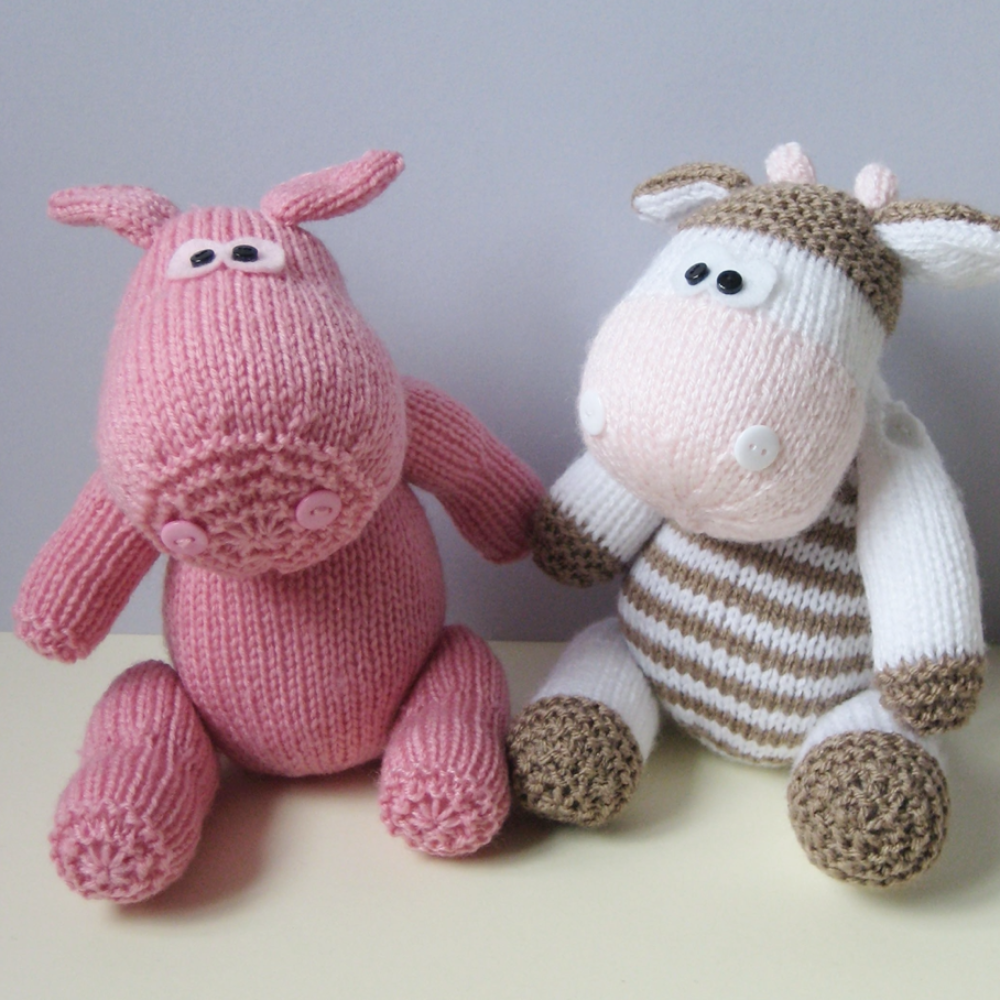 Chutney Cow and Pickles Pig