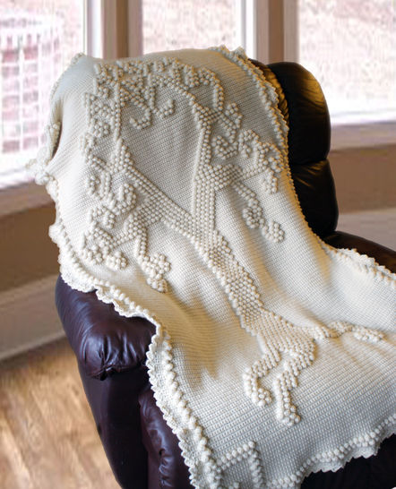Tree of Love Afghan - Crochet Pattern at Makerist - Image 1