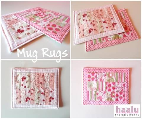 Mug Rugs - sewing tutorial at Makerist