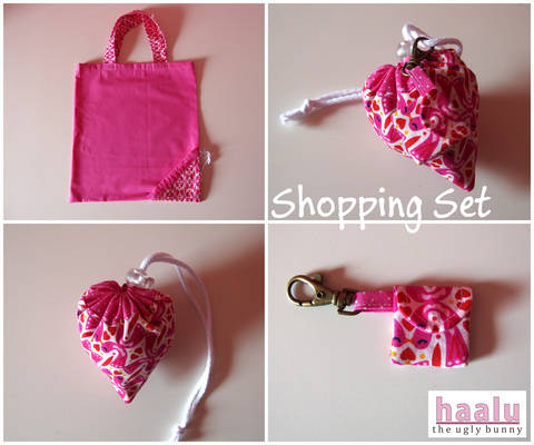 Shopping Set - sewing tutorial at Makerist
