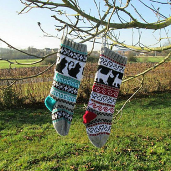 Christmas Stocking - Cats and Dogs at Makerist - Image 1