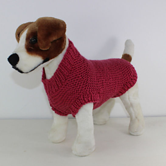 Chunky Garter Stitch Dog Coat at Makerist - Image 1