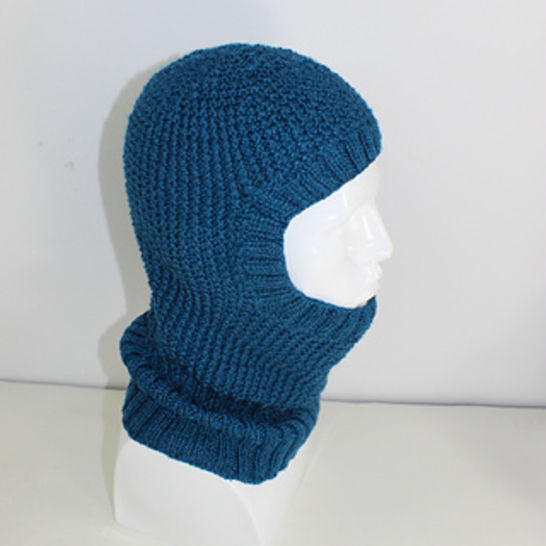 4 Ply Textured Unisex Balaclava CIRCULAR knitting pattern at Makerist - Image 1