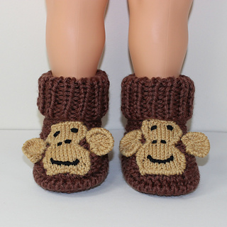 Toddler Monkey Boots