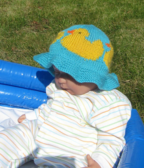 Baby And Child Rubber Duck Sun Hat at Makerist - Image 1