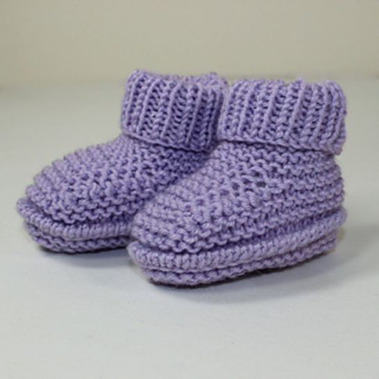 Premature Baby Rib Cuff Booties at Makerist - Image 1