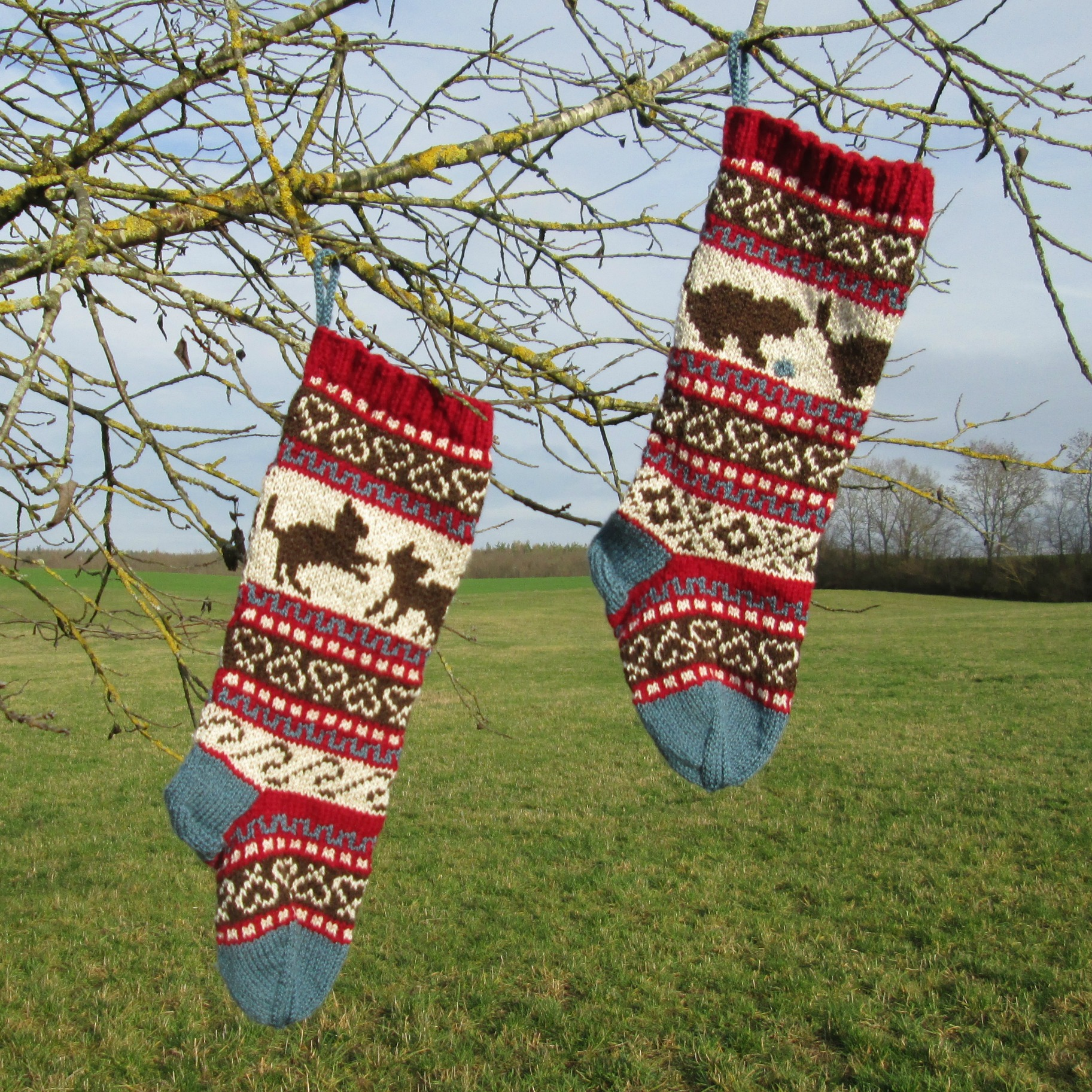 Christmas Stocking - with Kittens