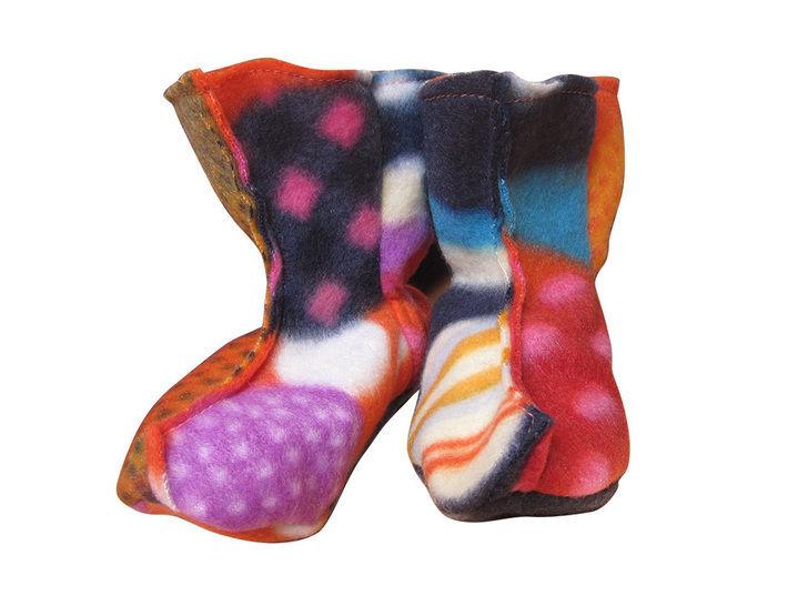 Elfenstiefel Gr.21-29 Stiefel für Babies Schuhe mit Glöckchen bei Makerist - Bild 1