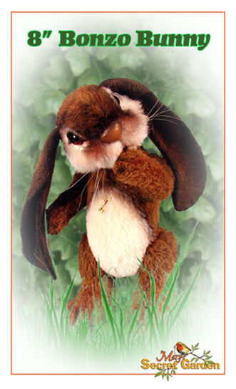20 Cm Bunny Sewing Pattern, Teddy Bear Style Rabbit, Plush Jointed DIY at Makerist - Image 1