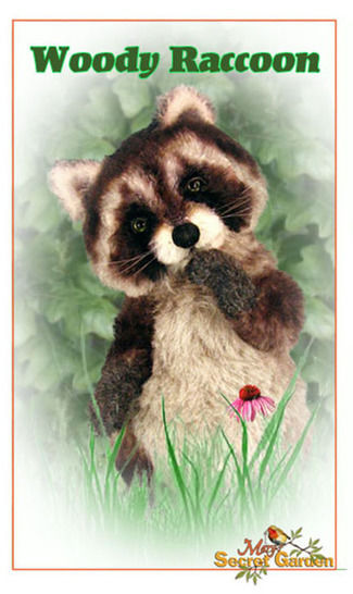 Plush Raccoon Sewing Pattern, Teddy Bear, Posable Raccoon Tutorial at Makerist - Image 1