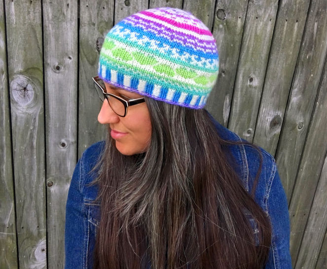 Fair Isle Amore Beanie at Makerist - Image 1