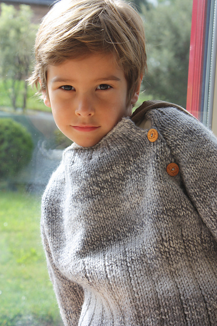 Pull Avel 2-8 ans - tricot