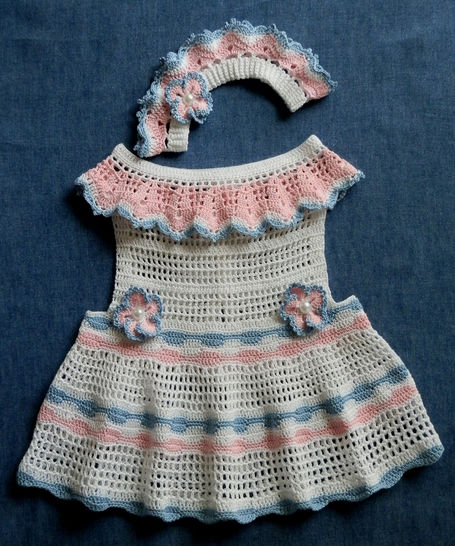 Baby Girl Sun Dress and Matching Le Petite Bandeau 12-18mo at Makerist - Image 1