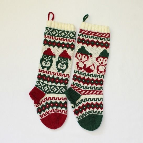 Christmas stocking - Santa Fox and Owl at Makerist - Image 1