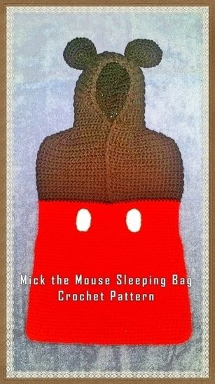 Mickey the Mouse Sack Crochet Pattern at Makerist - Image 1