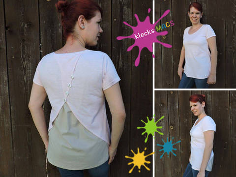 Nähanleitung / E-Book Damen Shirt *Surprise for Me* bei Makerist