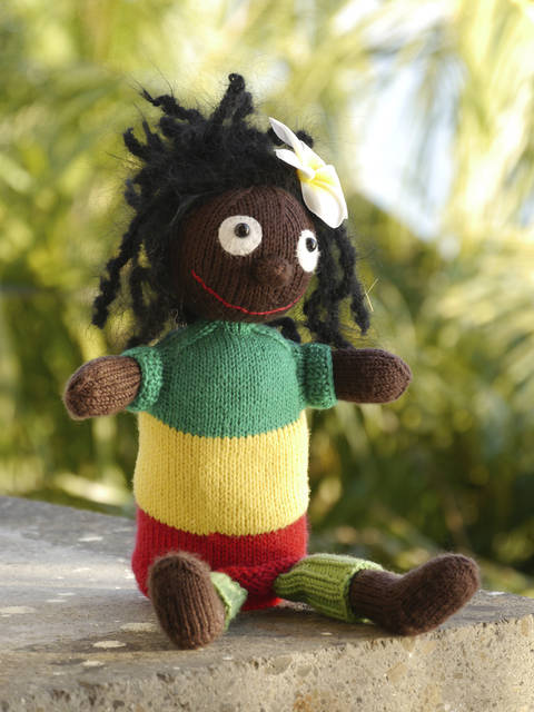 SUNSHINE BOB puppet knitting pattern