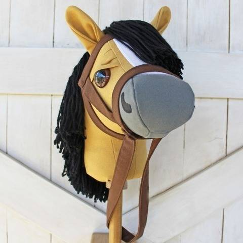 Mustang Stick Horse Hobby Horse at Makerist