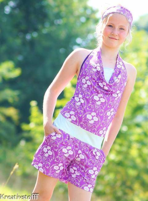 E-Book Jumpsuit SummerBreeze Junior Gr. 122-164 bei Makerist