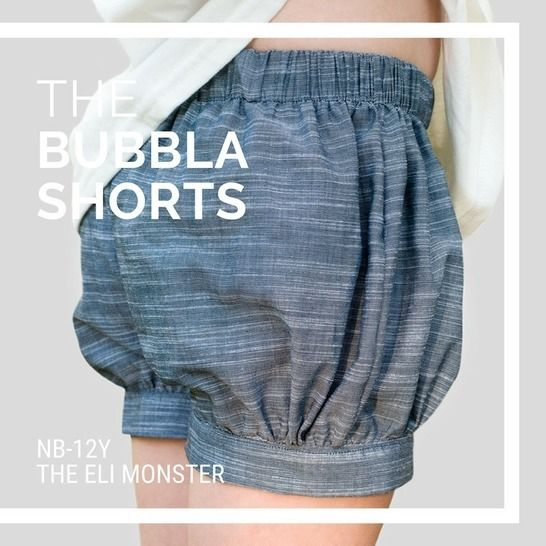 The Bubbla Shorts Sewing Pattern - newborn-12y at Makerist - Image 1