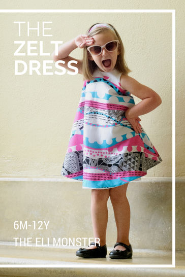 The Zelt Dress - Sewing Pattern for Sizes 6mo-12y at Makerist - Image 1