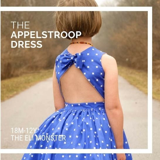The Appelstroop Dress Sewing Pattern, Sized 18m-12y at Makerist - Image 1