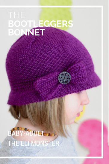 Bootlegger's Bonnet - Knitting Pattern for Baby-Adult at Makerist - Image 1