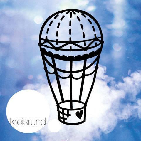 Plotterdatei Heißluftballon