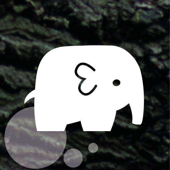 Plotterdatei Elefant