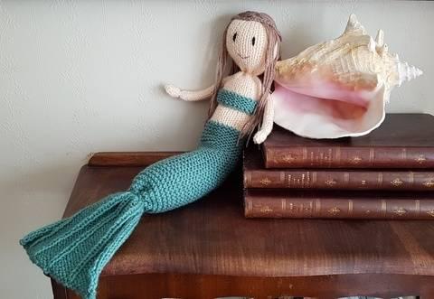 Mermaid doll at Makerist