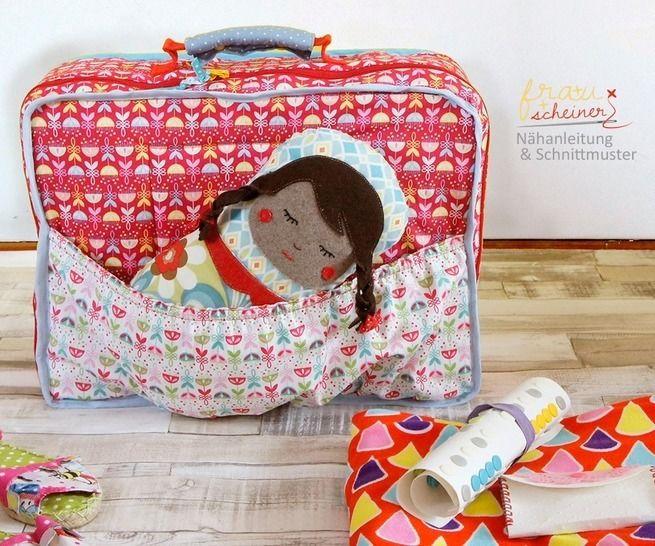 Kinder Koffer nähen bei Makerist - Bild 1